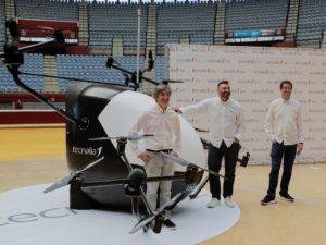 Enaire ensayará los primeros taxis voladores en Barcelona y Santiago en 2022
