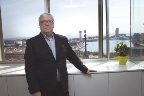 Jordi Trius, presidente de la Asociación de Agentes Consignatarios de Buques de Barcelona, en el centenario de la entidad