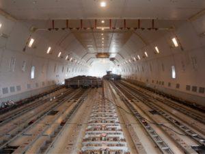 La carga aérea española cierra su año más negro