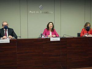 El puerto de Barcelona usa su músculo económico para apoyar la resiliencia empresarial en 2021