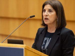 Izaskun Bilbao reclama medidas contra la explotación de conductores en Lituania
