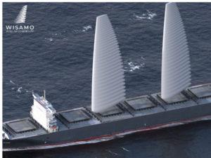 Michelin presenta un sistema de velas para buques mercantes que contribuye a la descarbonización del transporte marítimo