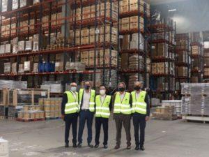 In Side Logistics y COSCO se reúnen para establecer posibles colaboraciones futuras