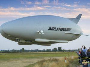 Una empresa británica plantea el uso de dirigibles para el transporte de perecederos